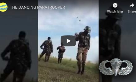 The Dancing Paratrooper – Best dance moves on the DZ