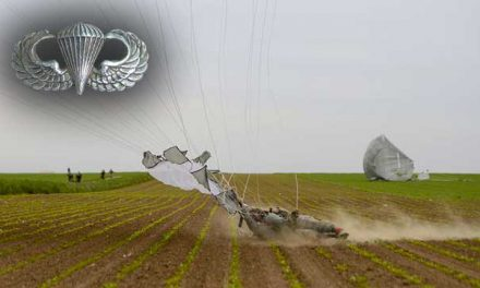 Paratroopers Try to Handle High Wind PLFs