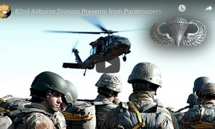 Paratroopers donate 1000's of toys then Jump for Foreign Wings