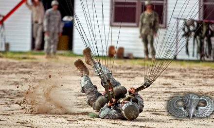 PLF – Technique Used by Paratroopers to Fall Safely