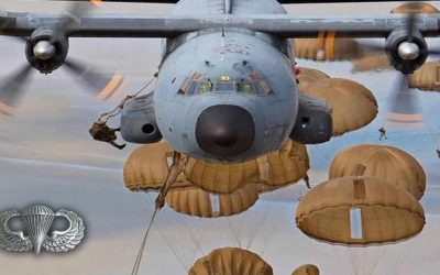 Airborne All The Way – Static Line Jump Video